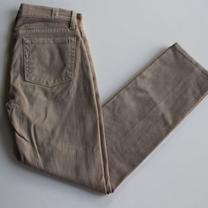 7 FOR ALL MANKIND Slim Straight khaki denim